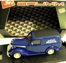 Brumm r329: FIAT 1100e furgone, GELATI MOTTA 1950 in 1/43, NUOVO & OVP