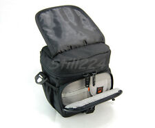 Olympus Bridge camera Stylus 1S Case Bag With Shoulder Strap Card Holder