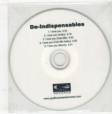 (GX750) De-Indispensables, I Love You - DJ CD