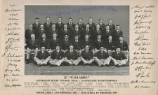 1953 AUSTRALIA RUGBY TOUR OF SOUTH AFRICA SQUAD PRINT