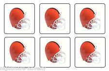 "CLEVELAND BROWNS COASTERS 1/4"" BAR & BEER SET OF 6"