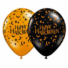 """Happy Halloween Balloons 28cm (11"""") Pack of 10 Halloween Party Decoration"""