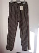BNWT 100% auth Costume National mens, Striped, elegant troursers. 46 RRP £260
