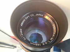 LENS SMC PENTAX f=135 mm   1: 3.5  (PENTAX K mount)  GOOD CONDITION