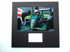 ANDREA DE CESARIS GENUINE HAND SIGNED AUTOGRAPH JORDAN F1 PHOTO MOUNTED COA