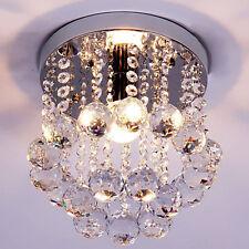 40W Crystal Mini Pendant Lighting Lamp Chandelier Flush Mount Ceiling Home Light