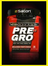 ISATORI PRE GRO - MUSCLE BUILDING PRE-WORKOUT With Bio -GRO Fruit Punch