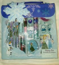Brand New Disney Frozen stamp, and stationary set anna elsa olaf stamps  disney