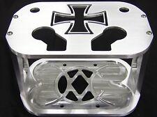 WCM Cross Billet Optima Battery Hold Down, Tray, Bracket, Box-- Mopar/Chevy/Ford