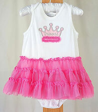 First Impressions Pink PRINCESS Tulle Tutu Sleeveless Party Dress Baby Girl 12mo