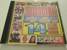 Top Of The Pop`s Magazine - Summer Anthems! (CD Album) Used very good