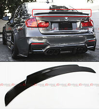 2015-17 BMW F80 M3 Real Carbon Fiber High Kick Extended Big Trunk Spoiler Wing