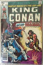 King Conan #1: NM 9.4 Condition [Marvel Comics Group Mar 02480]