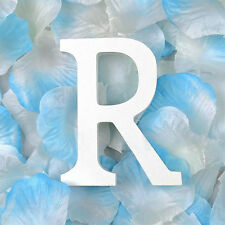 Wood Letter R Alphabet Word Plaques Signs Bridal Wedding Birthday Party Decor