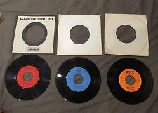 Lot 3 disques 45 tours Hank C. Burnette (très bon état)