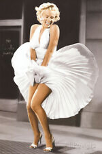 Marilyn Monroe - Sever Year Itch, White Dress, Color Poster Print, 24x36