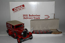 Danbury Mint 1931 Ford Model A, Budweiser Panel Truck Nice with Original Box