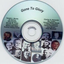 Gone To Glory Cd - Billy Sunday - William Booth - Moody
