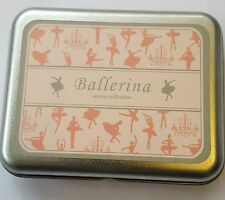 Rubber Stamp Collection Tin 9 Stamps Foam Backed Ballerina