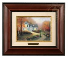 Thomas Kinkade Blessing of Autumn - Brushwork (Burl Frame)