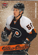 2008-09 FLEER ULTRA CLAUDE GIROUX RC ROOKIE GOLD MEDALLION #204 08-09
