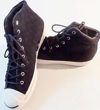 Converse Jack Purcell Hi Top Sneakers Shoes Size Men's 10.5, Women's 12