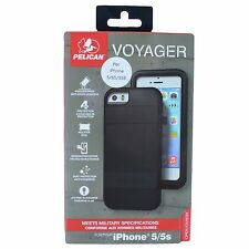 PELICAN VOYAGER CASE FOR IPHONE 5/5S/SE BLACK SUPM46896 BRAND NEW 100% AUTHENTIC
