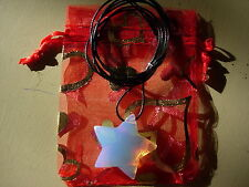 opalite meditation pendant star inc organza bag