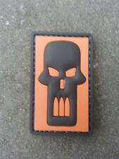 Bullet Skull Airsoft PVC Patch
