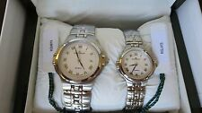 CATENA Watch Set,His&Hers, Swiss Quartz, Round face, StainlessSteel