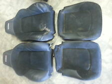 05 Chrysler Crossfire SRT6 black leather/suede seat covers