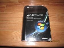Full Retal Microsoft Windows Vista Ultimate with Service Pack 1: 32 and 64 - bit