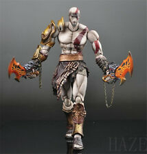 "10"" Square Enix Play Arts Kai 1/4 God of War KRATOS Action Figure"