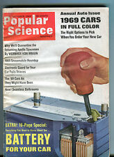 Popular Science Magazine October 1968 Battery For Your Car VG 072516jhe