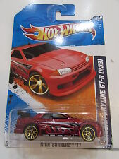 HOT WHEELS 2011 NIGHTBURNERZ - NISSAN SKYLINE GT - R (R32)