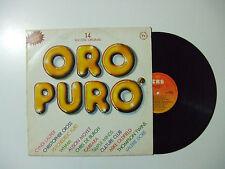 Oro Puro 4  -Disco Vinile 33 Giri LP Album Compilation Stampa ITALIA 1984