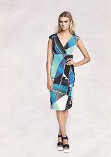 Abendkleid Jerseykleid Damenkleid Etuikleid 36 NEU 99€ apart blau 870393 700