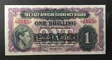 The East African Currency Board, 1943, One Shilling