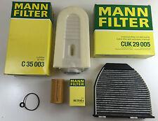 MANN Filter Set, Inspektionskit Mercedes S204 W204 X204 S212 W212 C207 CDI
