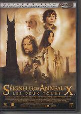 DOUBLE DVD LE SEIGNEUR DES ANNEAUX / LES DEUX TOURS / PETER JACKSON