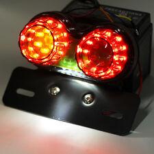 Moto LED Double Feu Stop Arrière Clignotants Tourne Signal Ampoule Freinage Lamp