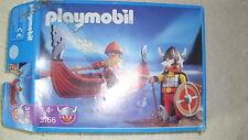 Playmobil 3156 vikingo a remos Bote completo con ba en OVP