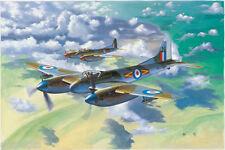Avion de chasse Britannique DE HAVILLAND HORNET F. - KIT TRUMPETER 1/48 n° 2894