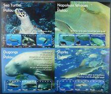 Palau 2010 Fische Fishes Poissons Pesci Dugong Haie Schildkröten 2987-98 MNH