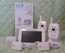 Summer Inview Digital Color Baby Monitor  w/2 Cameras } Line on Screen