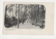 The Invalids Walk Bournemouth [84] Vintage U/B Postcard 800a