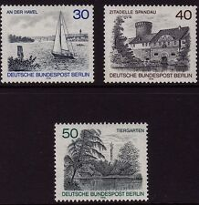 GERMANY MNH STAMP DEUTSCHE BUNDESPOST BERLIN 1976  BERLIN VIEWS  SG B512 - 514