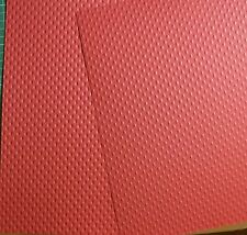 10 x A4 Red Dimple Textured Card 260gsm *NEW* ONLY £1.00