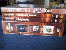 Clint Eastwood Lot  6(DVD) The Good, The Bad and the Ugly,....... Like New & NEW