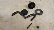 1983 HONDA ATC 110 TIMING GEAR AND CHAIN SET